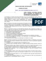 Resolucao Cne Cp 1 18 Fev 2002 Licenciaturas