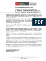 MINISTRO DEL INTERIOR ANUNCIÓ EN TRUJILLO PLAN MULTISECTORIAL PARA MEJORAR SEGURIDAD CIUDADANA