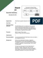 2014 Iowa Department of Education Legislative Advocacy Agenda