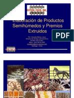 Elaboracion de Semihumedos y Premios Extruidos