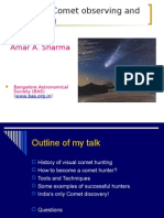 Visual Comet Observing & Hunting - BAS ppt