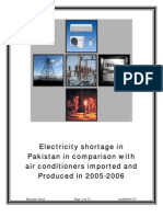 Research Report on Electricity Shortage in Pakistan (Research Methodology)