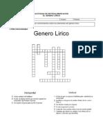 Guía Lírica Actividades II MEDIO
