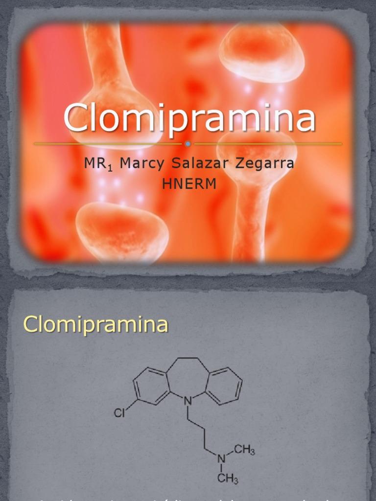 clomipramina para eyaculacion precoz