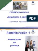 Tema 1    - La administración