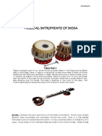 Musical IntruJJments of India