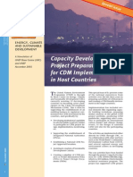 Capacity Development and Project Preparation for CDM Implementation in Host Countries