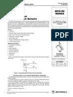 Datasheet Sensor de Presion