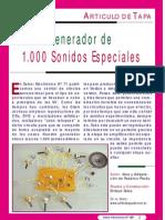 GENERADOR DE 1000 SONIDOS