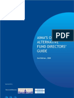 AIMA's Offshore Alternative Fund Directors' Guide 2nd Edition 2008