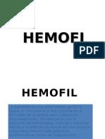 Enfermedad de Von Willebrand y Hemofilia