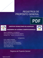 Registros de propósito general