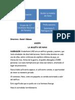 guion gesiel  proyecto del trimestre  entre paresiii ciencias instituto nacional de panam 1