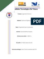 David Martinez Terrazas_Preparacion Ciclohexeno