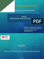 Sesión II GESTIÓN DE ALCANCE E INTEGRACIÓN  UCV