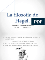 La filosofía de Hegel