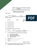 Exemption Form - AMIETE.pdf