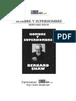 Shaw Bernard - Hombre y Superhombre