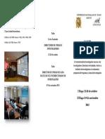 Triptico_Taller Programas_lineas Investigacion 2013