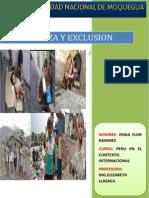 Informe de La Pobreza