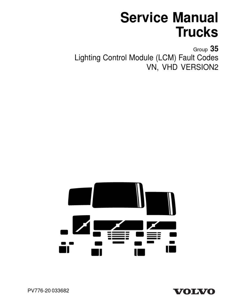 Volvo Lcm Fuse Location - Complete Wiring Schemas