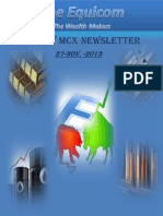 MCX Market News by Theequicom 27-November