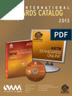 ASTM Catalog 2013