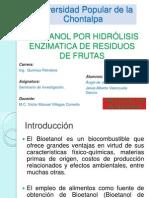 OBTENCION DE BIOETANOL POR HIDRÓLISIS ENZIMATICA DE RESIDUOS