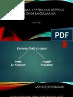 Paradigma kebebasan berpikir