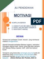 Ilmu pendidikan-motivasi