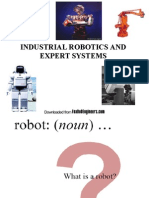 Industrial Robotics and Expert System