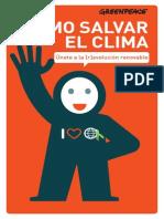 Informe Cómo salvar el clima - Greenpeace
