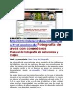 Web Fotografia de La Naturaleza