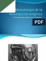 Metodología de la investigación empírica