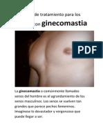 Tratamiento Para Los Hombres Con Ginecomastia