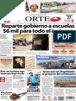 Periódico Norte de Ciudad Juarez 27 de Noviembre de 2013