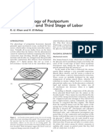 Pathophysiology of Postpartum Hemorrhage and Third Stage of Labor