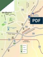 Lake Buena Vista Area Map