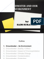 Groundwater and Our Enviroment_Saim