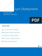 Module 09 - Lync Ignite - Securing Lync Deployments