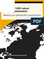 Publication- Globalization in Sap