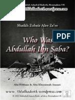 Who Was Abdullah Ibn Saba