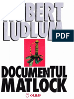 Robert Ludlum - Documentul Matlock