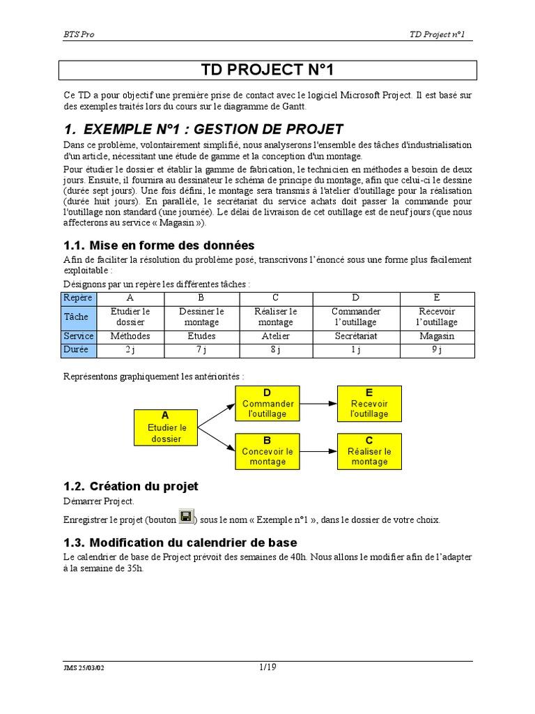 Utilisation ms projet ccuart Choice Image