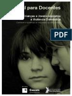 Crianças e Jovens expostos à violência doméstica