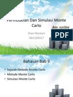 Permodelan Dan Simulasi Monte Carlo Show