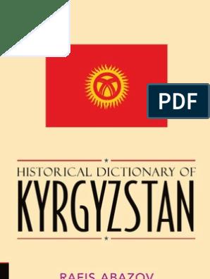 Kyrgyz-english//english-kyrgyz Concise Dictionary