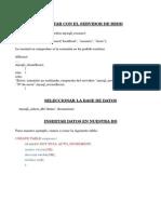 Resumen Php Mysql