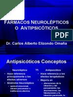 FÁRMACOS NEUROLÉPTICOS