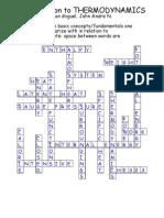 Thernmo Crossword Puzzle Answer Keypdf
